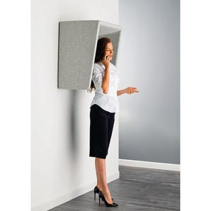 Acoustic telephone hoods - commercial use