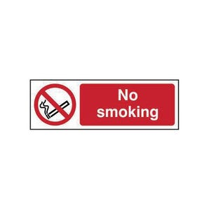 No smoking sign - Landscape