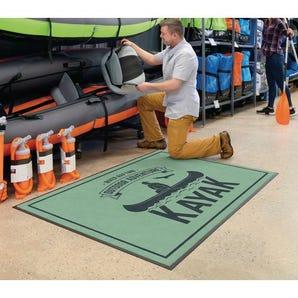 Personalised washable logo entrance mats - light duty