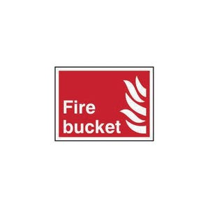 Fire Bucket Sign