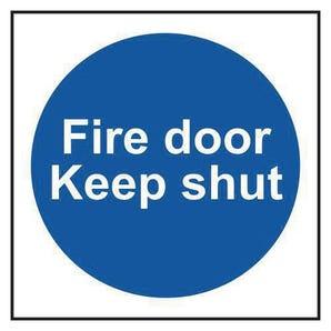 Fire Door Keep Shut Multipack Of 10 Sign