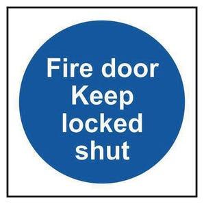 Fire Door Keep Locked Shut Multipack Of 10 Sign