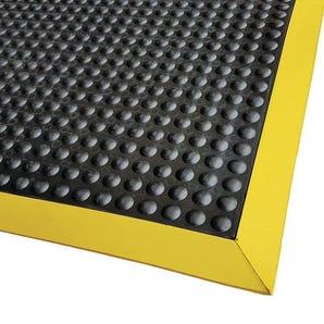 Ergo-tred anti-fatigue rubber bubble top mats