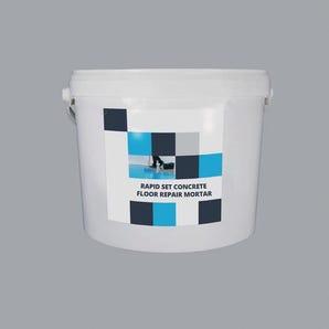 Rapid set epoxy concrete floor repair mortar