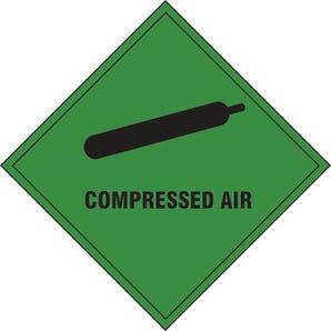 Compressed air label