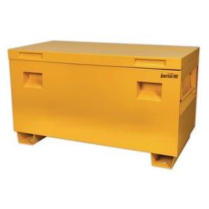 Lockable job site tool boxes
