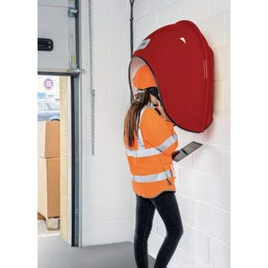 Acoustic telephone hoods - industrial use