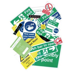 Health and safety signage pack