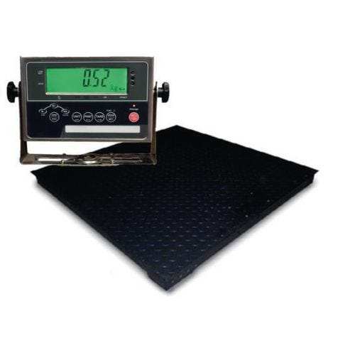 Platform scales with IP67 display and RS-232 port