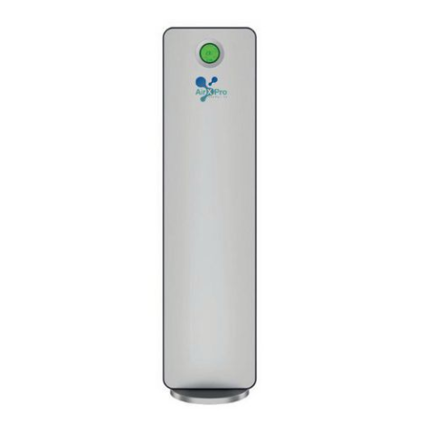 A wall mounted air purifier with HEPA filter from Slingsby